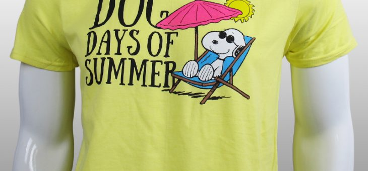 Peanuts – Dog Days of Summer