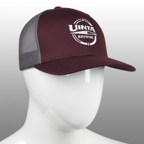 Uinta Brewing - Logo Mesh Back Hat
